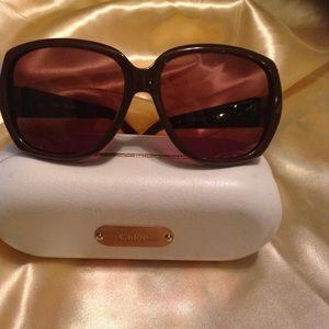 Beautiful Chloe' Authentic Designer Sun Glasses